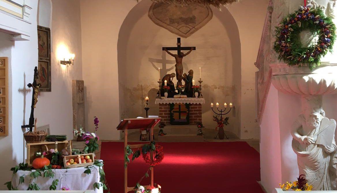 Johannisandacht auf dem Friedhof Kreinitz