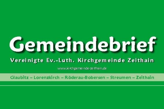 Gemeindebrief der Kirchgemeinde Zeithain als PDF
