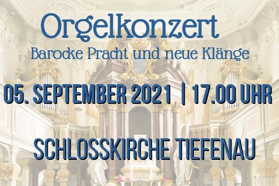Orgelkonzert in Tiefenau mit Jürgen Rieger